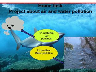 Home task Project about air and water pollution 1st probllem Air pollution 2