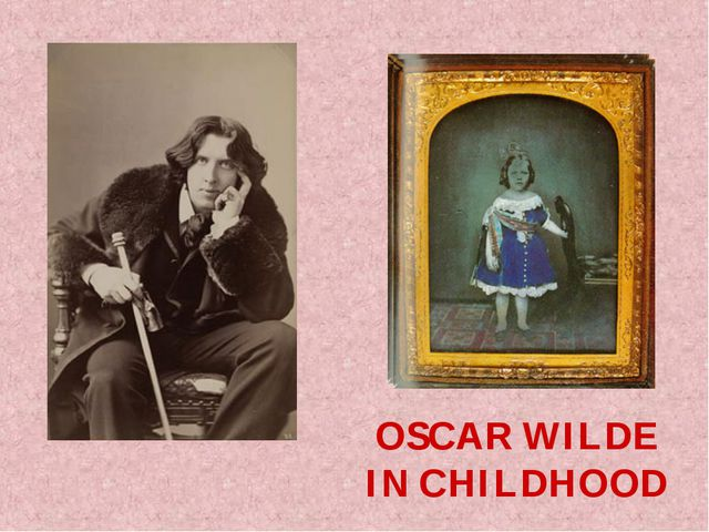OSCAR WILDE IN CHILDHOOD