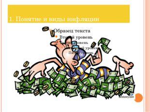 1. Понятие и виды инфляции
