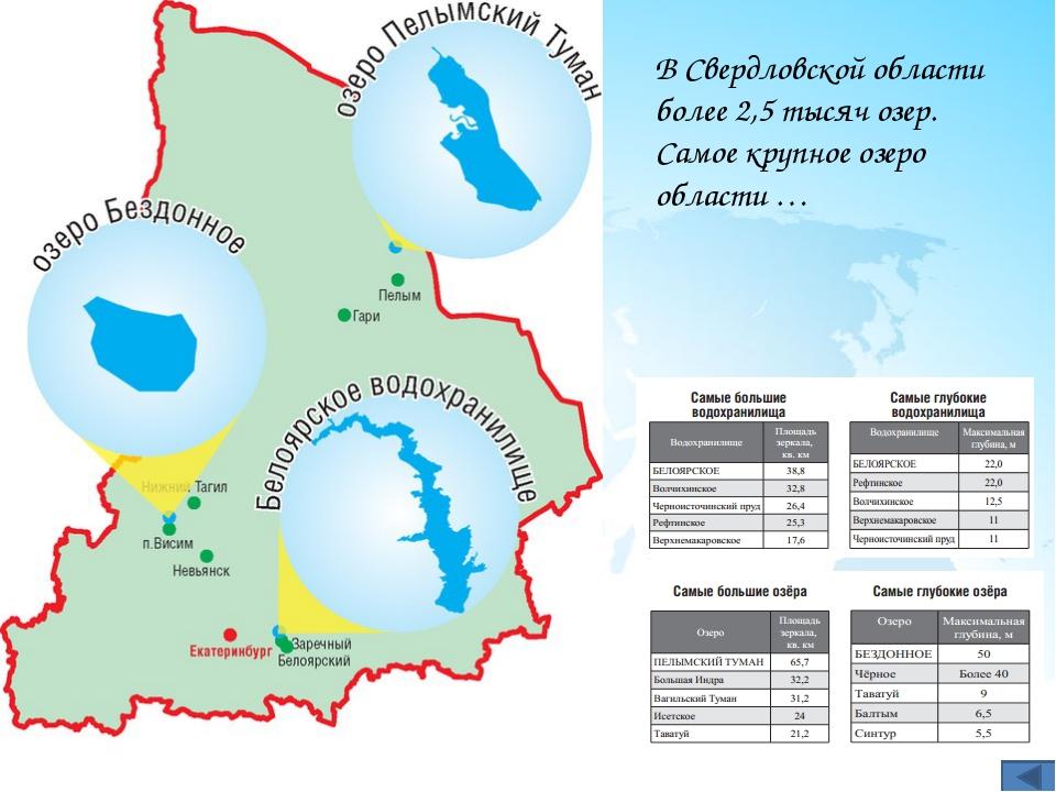 Назовите самые населенные города Свердловской области?