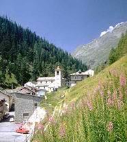 Селение в Альпах