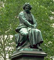 Памятник Бетховену в Вене