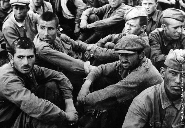 Советские военнопленные, В плену, Вторая мировая, Скачать Обои и Фото