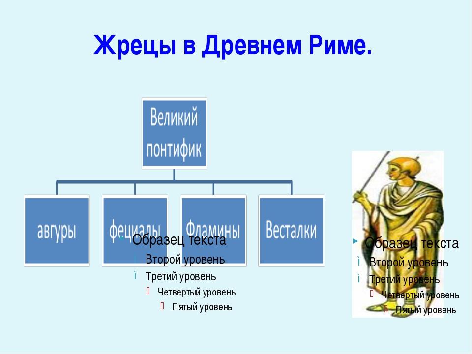 Жрецы в Древнем Риме.