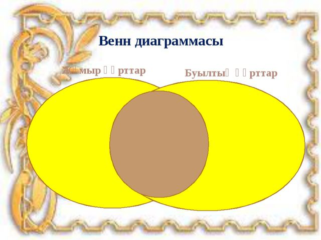 Жұмыр құрттар Буылтық құрттар Венн диаграммасы