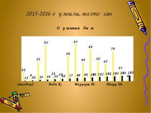 2015-2016 оқу жылы, желтоқсан