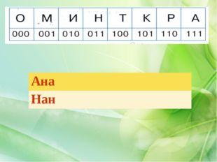 Ана Нан