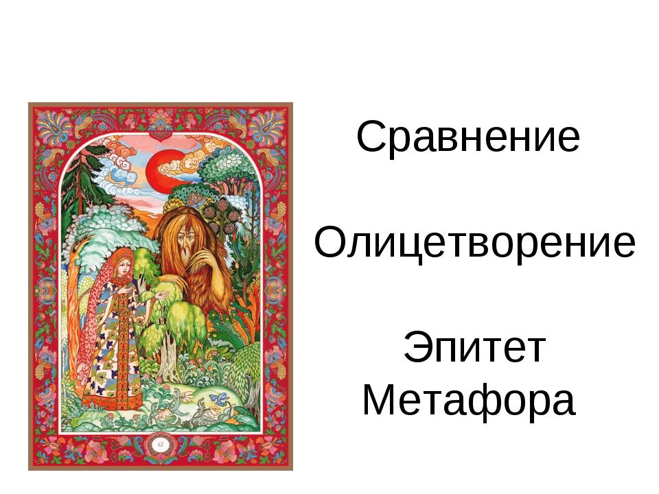 4. Исследование «Художественные средства» Сравнение Олицетворение Эпитет Мета...