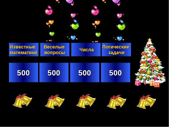 500 500 500 500 Известные математики Веселые вопросы Числа Логические задачи