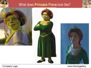What does Princess Fiona look like?