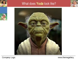 What does Yoda look like?