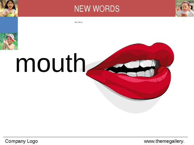 mouth NEW WORDS