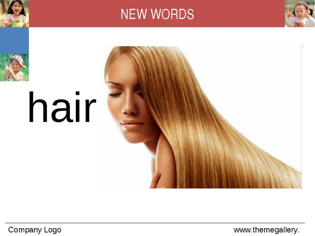 hair NEW WORDS