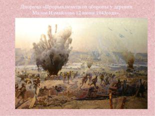 Диорама «Прорыв немецкой обороны у деревни Малое Измайлово 12 июня 1943года».