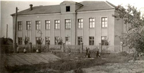 новое здание 1958