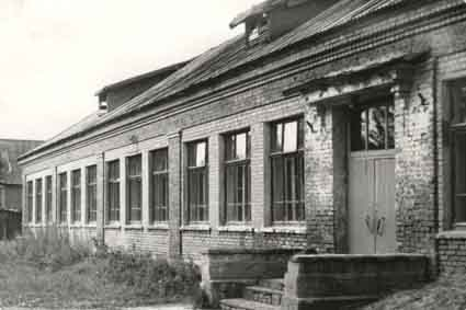 кирпич здание нач школы
