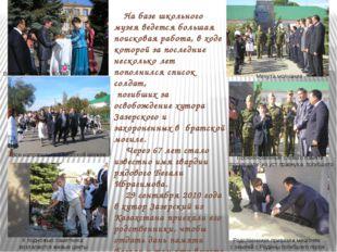 Встреча почетных гостей из Казахстана Все направились к братской могиле Минут