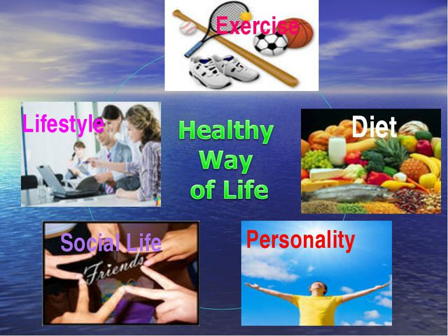 Diet Lifestyle Social Life Exercise Personality