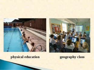 physical education geography class