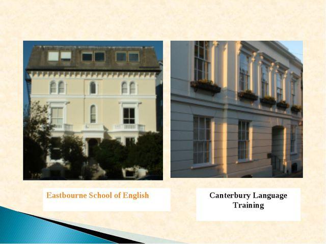 Eastbourne School of English Canterbury Language Training