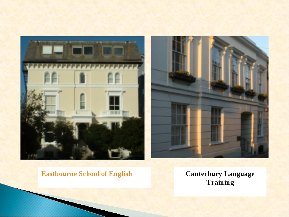 Eastbourne School of English Canterbury Language Training