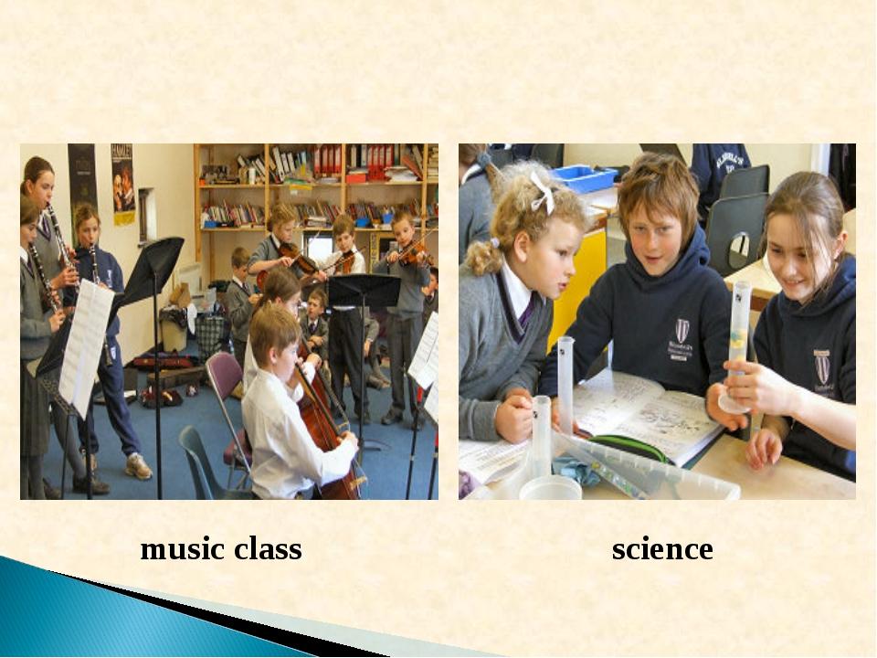 music class science