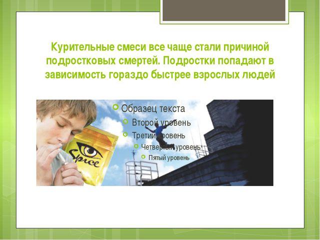 Курительные смеси все чаще стали причиной подростковых смертей. Подростки поп...