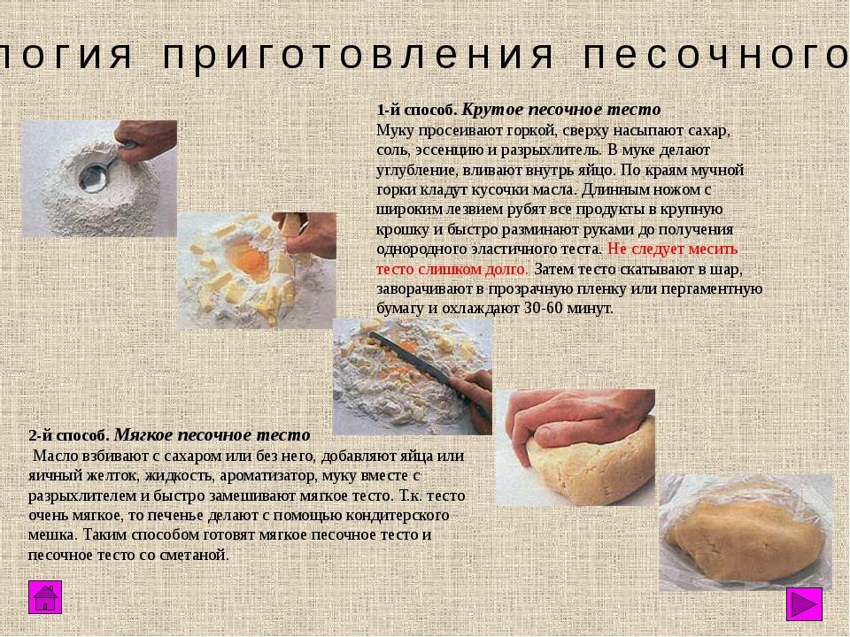 Песочное печенье - рецепты 71