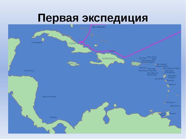 Первая экспедиция
