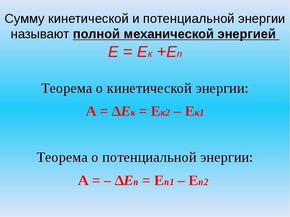 запрос, специалисты теоремы о кинетической и потенциальной энергии цен ежедневно!Проектная декларация