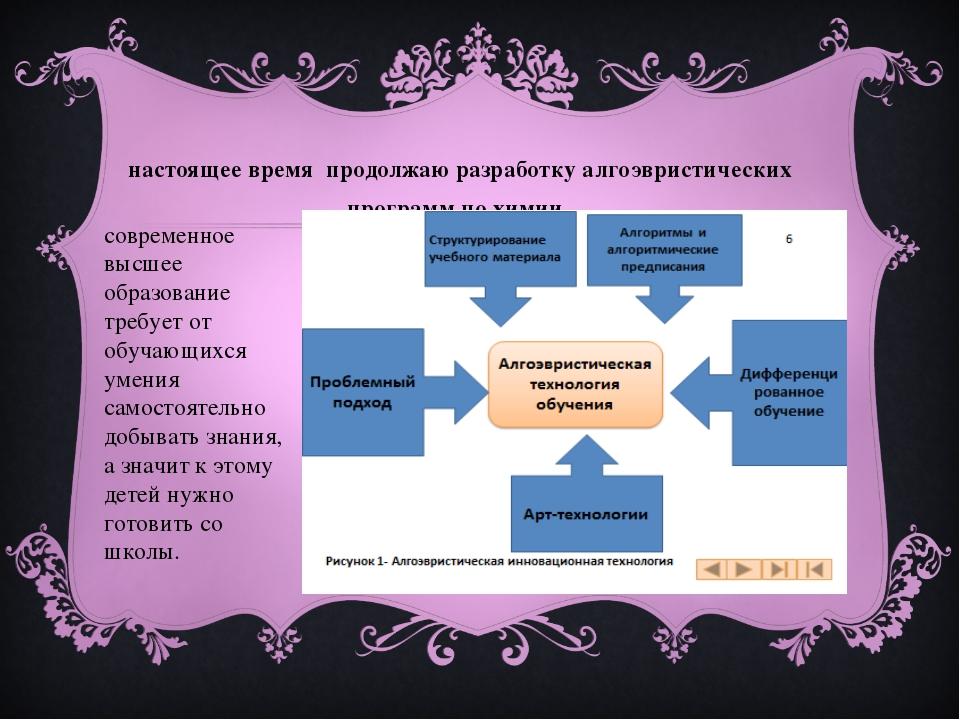 В настоящее время продолжаю разработку алгоэвристических программ по химии. с...