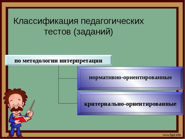 Критериально-ориентированные тесты (задания) предназначены для определения ур...