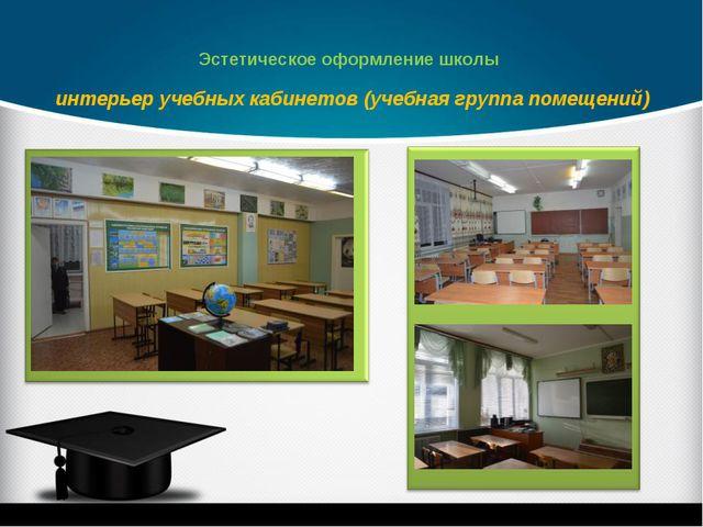 интерьер учебных кабинетов (учебная группа помещений) Эстетическое оформление...