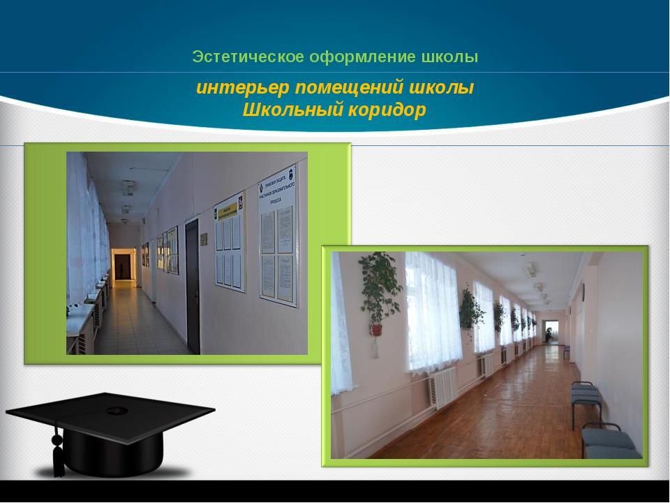 интерьер помещений школы Школьный коридор Эстетическое оформление школы
