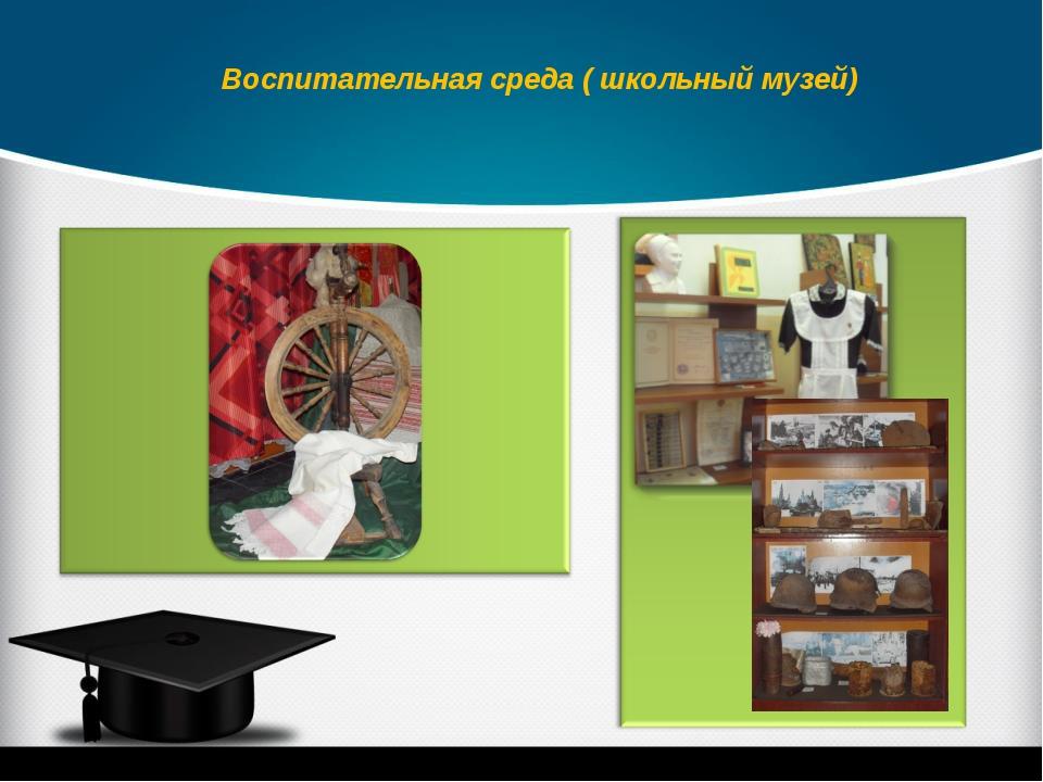 Воспитательная среда ( школьный музей)