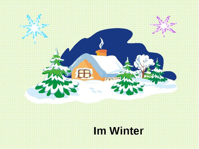 Im Winter