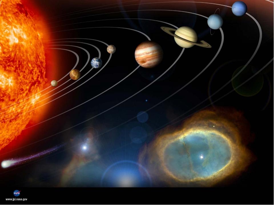 2. Назовите планеты солнечной системы. Ответ: Меркурий, Венера, Земля, Марс,...