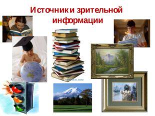 Источники зрительной информации