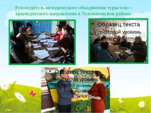 Руководитель методического объединения туристско – краеведческого направления