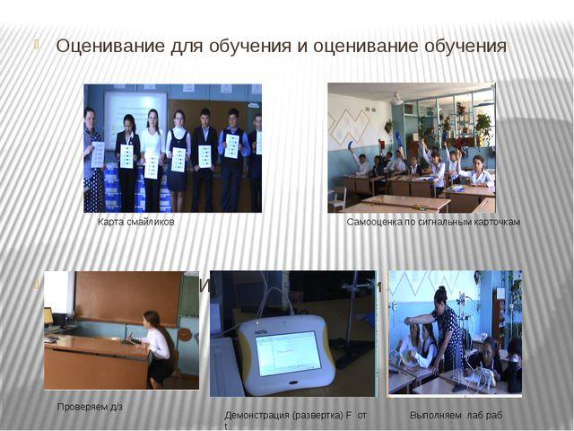 Оценивание для обучения и оценивание обучения Использование ИКТ в преподавани...