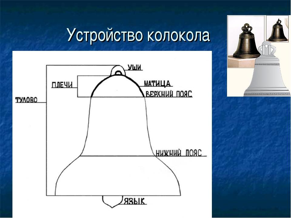 схема колокола с указанием его частей удобрения гораздо полезней