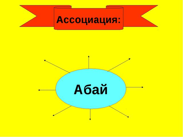 Ассоциация: Абай