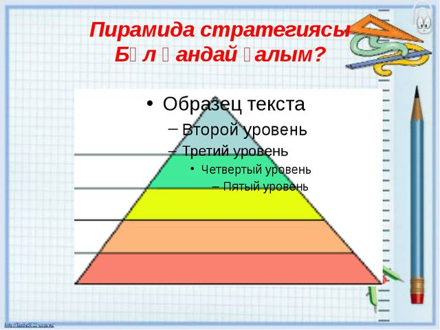 Пирамида стратегиясы Бұл қандай ғалым?