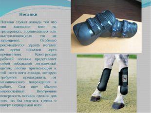 Ногавки Ногавки служат лошади тем что они защищают ноги на тренировках, сорев