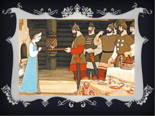 """""""Ой вы, молодцы честные, Братцы вы мои родные, - Им царевна говорит: - Коли л"""