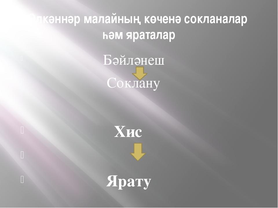 Өлкәннәр малайның көченә сокланалар һәм яраталар Бәйләнеш Соклану Хис Ярату