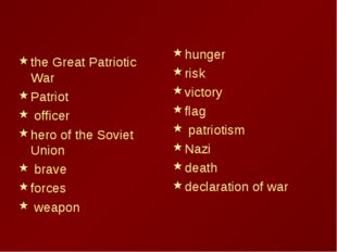 the Great Patriotic War Patriot officer hero of the Soviet Union brave forces