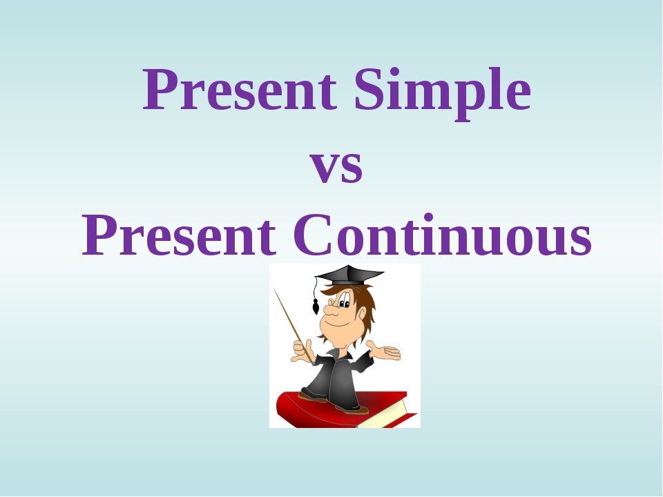 simple present versus present continuous - bastrimbos.com