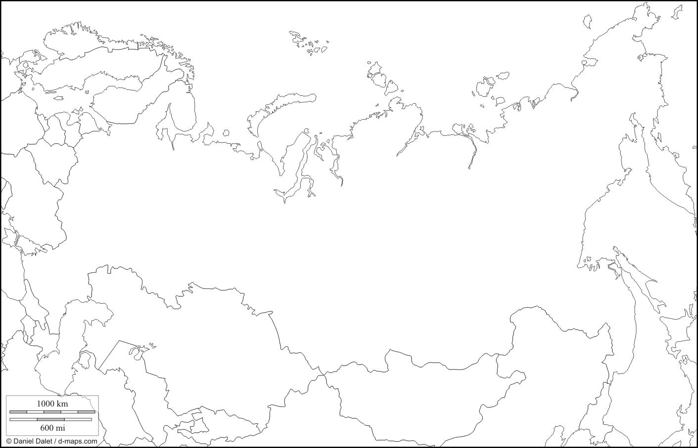 контуры карты россии распечатать ориентироваться цену погонный
