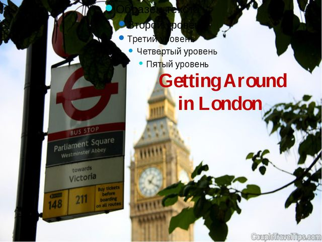 Getting Around in London